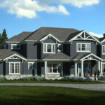 large Craftsman style home